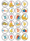 24 x Edible Personalised Icing Rice Paper Twirlywoos Birthday Cup Cake Toppers
