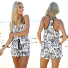 New Women Clubwear V Neck Playsuit tunic Bodycon Party Jumpsuit&Romper Trousers