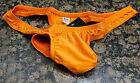 N2N Bodywear Men Orange Power G-string swim thong swimwear size S or XL
