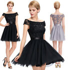 Teens Tulle Homecoming Bridesmaid Dress Wedding Cocktail Party Gown Ball Dresses