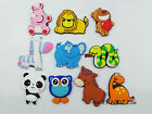 KAILIZ Wild Zoo Animals Figures Set Kids Soft Fridge Magnet Educational Toys NEW