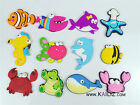 KAILIZ Sea Life Sea Creatures Fish Figures Kids Soft Fridge Magnets NEW UK STOCK
