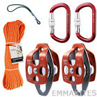 Arborist Tree Climbing System Setup Kit Prusik Carabiners Pulleys Rigging Line