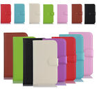 Luxury PU Leather Flip Case Cover Card Wallet  Slot For Lenovo New Phones