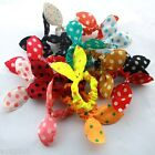 $2.98 =2 xCute Girl Hair Ties Band Ponytail Holder Multicolor Headband FREE POST