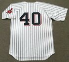 KEN HARRELSON Cleveland Indians 1970 Majestic Cooperstown Home Baseball Jersey