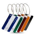 Aluminium Travel Luggage Baggage Tag Suitcase Identity Address Name Tel Labels