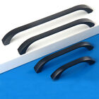 Hardware Wardrobe Cupboard Cabinet Closet Door Drawer Pull Handles Knobs Black