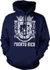 Puerto Rican Distressed Country Crest - PR Puerto Rico Hoodie Pullover