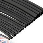 Heat Shrink Tube Sleeving Black White Sizes & Lengths Car Wire Wrap Heatshrink