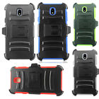 Samsung Galaxy Express Prime COMBO Belt Clip Holster Case Phone Cover Kickstand