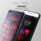 3D Embossed Painted Soft Silicone TPU Rubber Protective Cover Case For Oneplus X