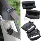 2/4X Car Vehicle Seat Belt Strap Adjuster Support Clip Clasp Comfort &Safety Aid