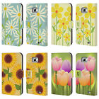 HEAD CASE DESIGNS ROMANTIC FLOWERS LEATHER BOOK CASE FOR SAMSUNG GALAXY S2 II
