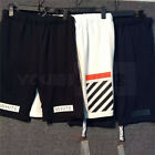 2016 New GD Cotton Off White C/O Virgil Abloh PYREX Gym Sport Shorts Pants Short