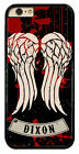 The Walking Dead Daryl Dixon Wings Crossbow Hard Phone Case Cover Fit For iPhone