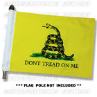 GADSDEN MOTORCYCLE FLAG   DONT TREAD ON ME MOTORCYCLE FLAG   6X9 or 10X15