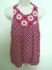BANANA REPUBLIC Women's Pink Purple Patterned Halter Top Size Small NWT