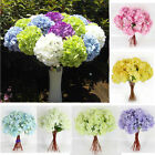 Newest Artificial Hydrangea Bouquet Silk Flowers Leaf Wedding Party Home Decor