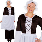 LADIES TUDOR MAID COSTUME POOR VICTORIAN PEASANT BOOK WEEK FANCY DRESS COSTUME