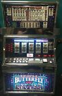 """IGT S2000 COINLESS SLOT MACHINE """"TRIPLE BUTTERFLY 7'S 5 REEL"""""""