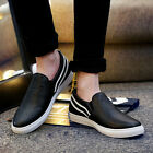 New Men Driving Leather Shoes Moccasin Loafers Sneakers Casual Shoes Slip On