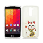 For LG Escape 3 K373 Etched 3D TPU Hard Skin Case Phone Cover Accessory