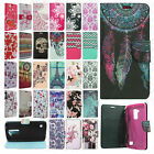 For LG Escape 3 K373 Premium Leather Wallet Case Pouch Flip Phone Cover