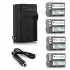 EN-EL3E Battery + Charger for Nikon D50 D70 D80 D90 D100 D200 D300S D700 Camera
