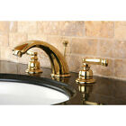 Royale Double Handle Widespread Bathroom Faucet with Retail Pop-Up Drain
