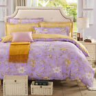 Peony Quilt/Doona Covers New 100% Cotton Double/Queen Bed Size Pillowcases Set