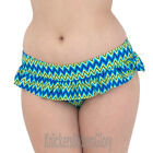 Curvy Kate Shockwave Skirted Bikini Brief Electric Shock Blue CS1235 Select Size