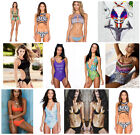 Sexy Women Bandage Bikini Set Monokini Swimwear Summer Bathing Suit Beachwear