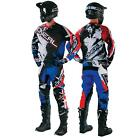O'Neal Element Shocker Blau Combo Set MX Moto Cross Hose Jersey Handschuhe