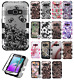 For Samsung Galaxy Express 3 IMPACT TUFF HYBRID Protector Case Skin Phone Cover