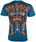 Archaic AFFLICTION Mens T Shirt PARADIGM Cross Wings Biker MMA UFC S 3XL 40