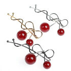1 pcs Women Girls Cherry Jewelry Barrette HairClip Hairpin Accessories 6.5CM