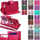 For Samsung Galaxy J7 (2015) Hybrid PU Leather Wallet Pouch Case Flip Cover