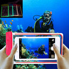 New Waterproof Underwater Pouch Bag Dry Diving Pouch Luminous Glow for CellPhone