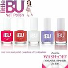 3 x Little BU® Water Based Non-Toxic Colour Nail Polish Teens Mum MADE IN FRANCE