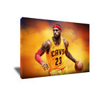 Cleveland Cavaliers KING LEBRON JAMES Poster Photo Painting on CANVAS Wall Art on eBay