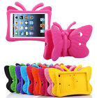 Kids Butterfly Style Rubber EVA Shockproof Case Cover For Apple iPad Series