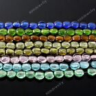 16mm Flat Round Lampwork Glass Beauty Loose Beads Jewelry Charm Findings