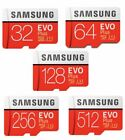 SAMSUNG 16GB 32GB 64GB 128GB 256GB Micro SD SDHC Micro SDXC Class10 EVO PLUS IT