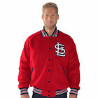 St. Louis Cardinals G-III Sports by Carl Banks Grand Slam Varsity Jacket - MLB
