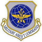 US Air Force USAFMilitary Airlift Command Decal / Sticker