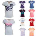New Womens Superdry T-Shirts - Various Styles & Colours