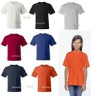 Hanes Youth Beefy-T Short Sleeve Cotton T-Shirt 5380 XS-L 13