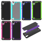 Premium Rugged Heavy Duty Shockproof Hybrid Hard Case Soft Cover Skin For HTC