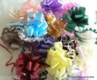 5 Large Florist Gift Pull Bows 50mm CHOOSE FROM MANY COLOURS